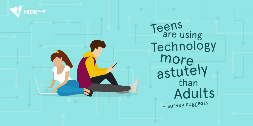 usage of technology in teens