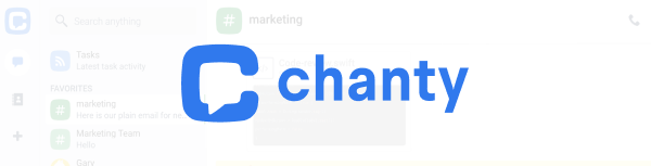 Chanty – For smaller teams that need integrated task management