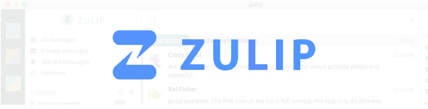Zulip – The benefits of live chat with an Email layout