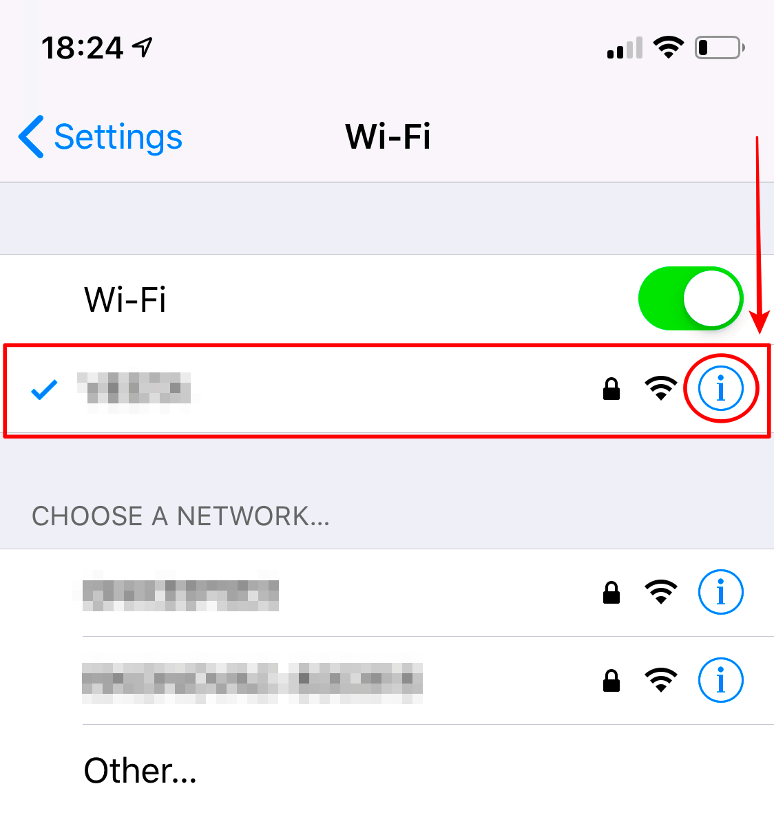 ios-change-dns-edit-wifi
