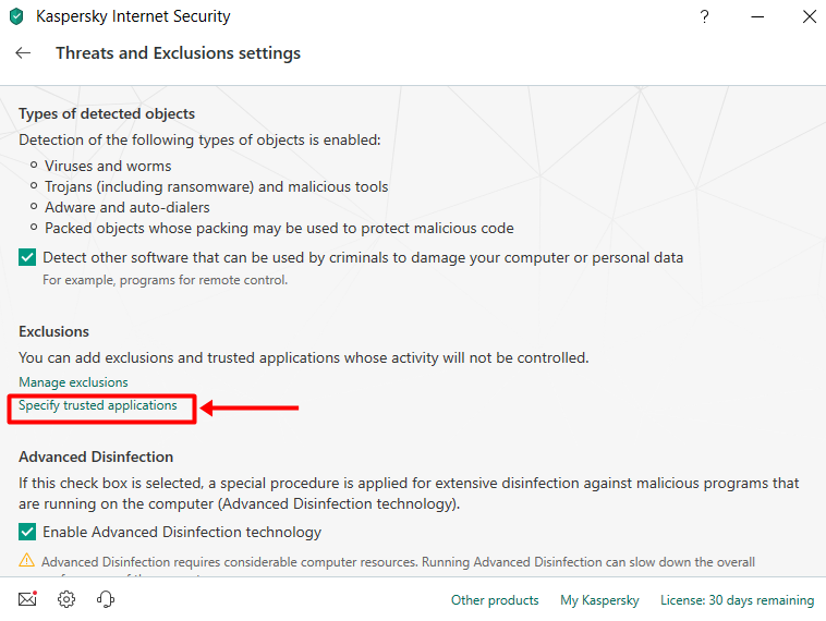 How To Enable hide me VPN With Kaspersky Internet Security