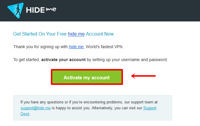 How To Register For a hide me Account? | hide me