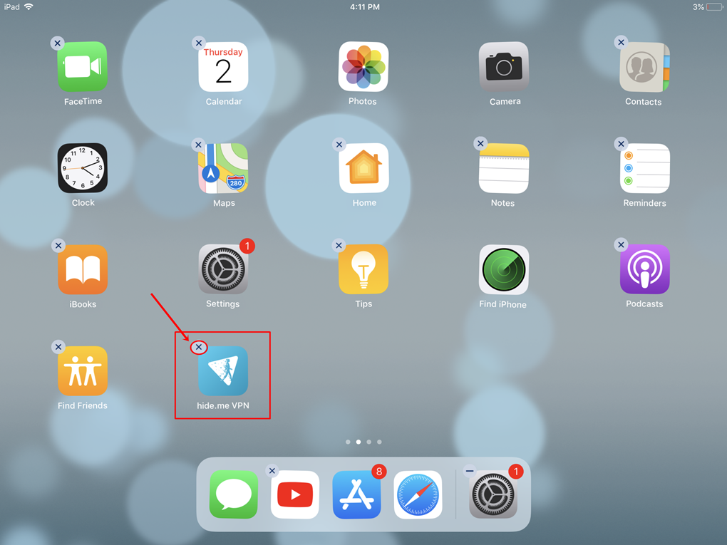 How To Uninstall hide me for iOS? | hide me