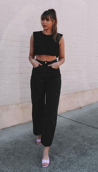 26 Preppy black styles to Start Wearing Now. Preppy summer outfits via higiggle.com