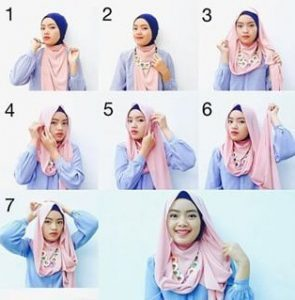 Hijab Pashmina Simple Formal