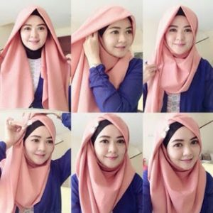 Hijab Segi Empat Modern untuk Kerja