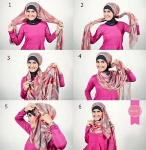 Hijab Sederhana, Cepat dan Gaul
