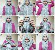 Tutorial Hijab Lebaran Segiempat dan Pashmina