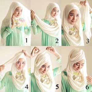Tutorial Hijab Dian Pelangi Segi Empat dan Pashmina Terbaru