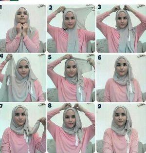 tutorial hijab lebaran 10