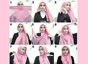 Segi Empat Polos Gaya Simple Beauty ala Dewi Sandra