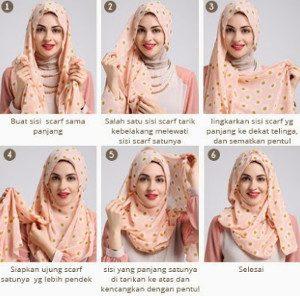 tutorial hijab lebaran 7