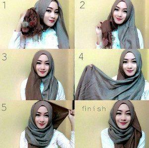 tutorial hijab ombre 4