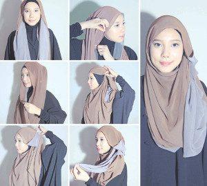 tutorial hijab ombre 6
