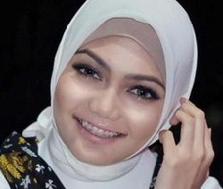 tutorial hijab ala rina nose 3
