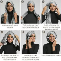 tutorial hijab simple kebaya 11