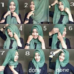 45 Tutorial Hijab Simple Pashmina yang Hits dan Kekinian