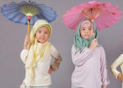 tutorial hijab wisuda anak tk 4