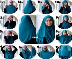 hijab wisuda segi empat 10a