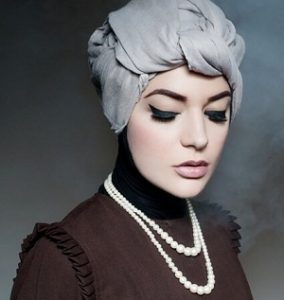 Hijab Pashmina Turban Simple