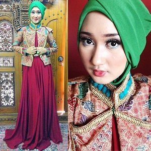 Model Jilbab Wisuda Dian Pelangi 6