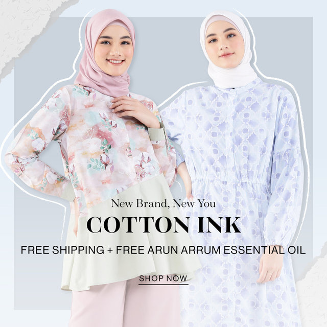 New Brand, New You COTTON INK