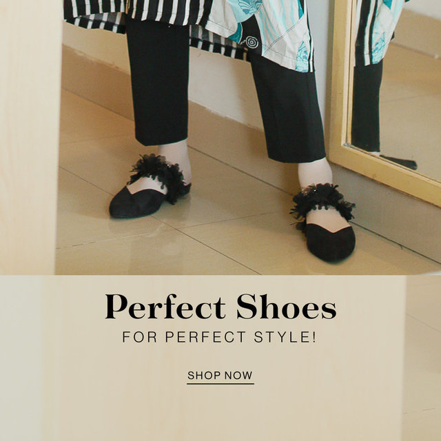 Perfect shoes for perfect style!