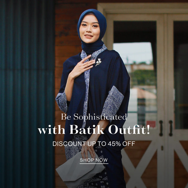 Be Sophisticated with Batik Outfit!