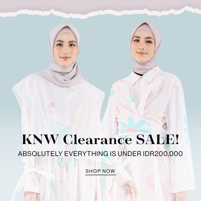 KNW Clearance SALE! Absolutely Everything is Under IDR200,000
