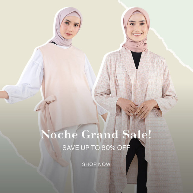 Noche Grand SALE! SAVE up to 80% OFF