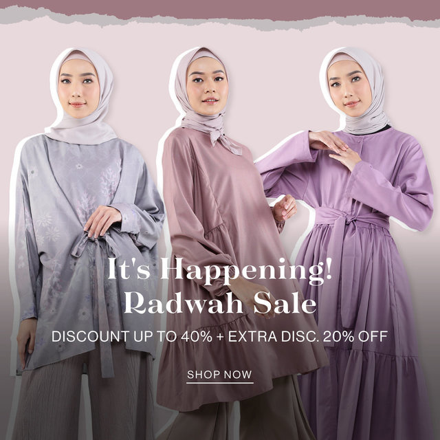 It's Happening! Radwah SALE