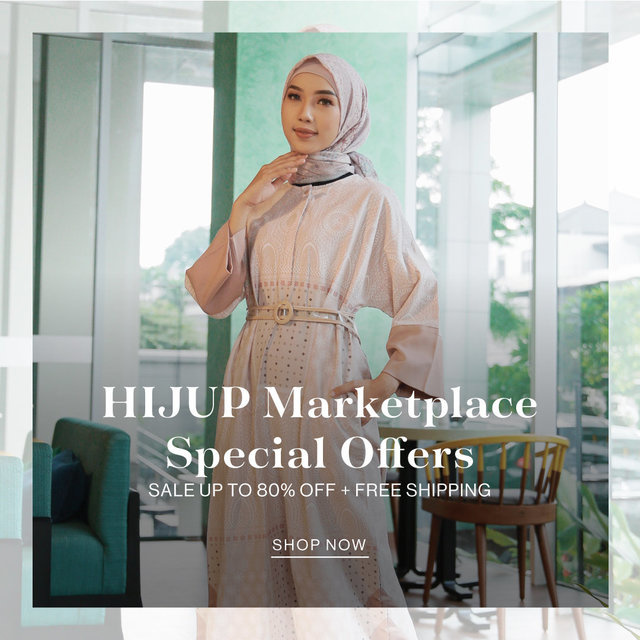 HIJUP MARKETPLACE SPECIAL OFFERS