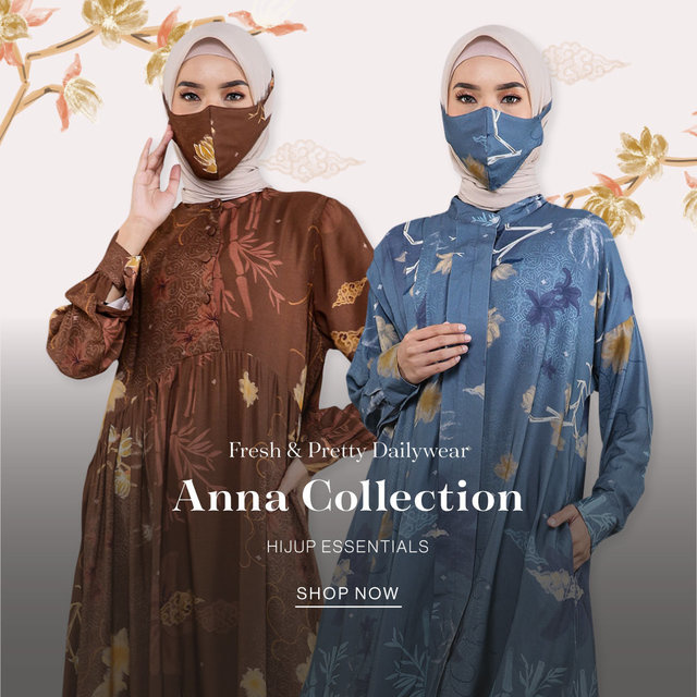 Fresh & Pretty Dailywear Anna Collection HIJUP ESSENTIALS