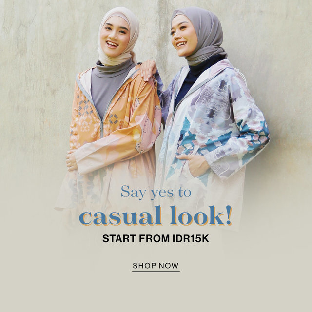 Say yes to casual look!