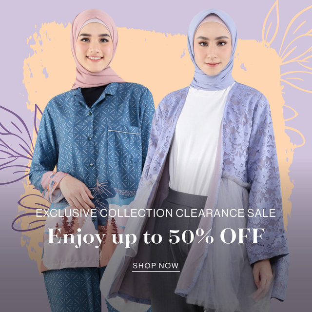 EXCLUSIVE COLLECTION CLEARANCE SALE