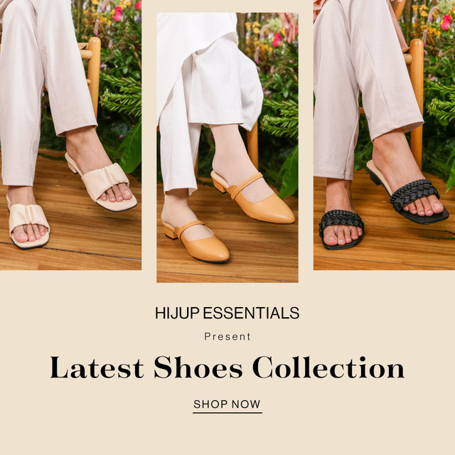 HIJUP ESSENTIALS Present Latest Shoes Collection