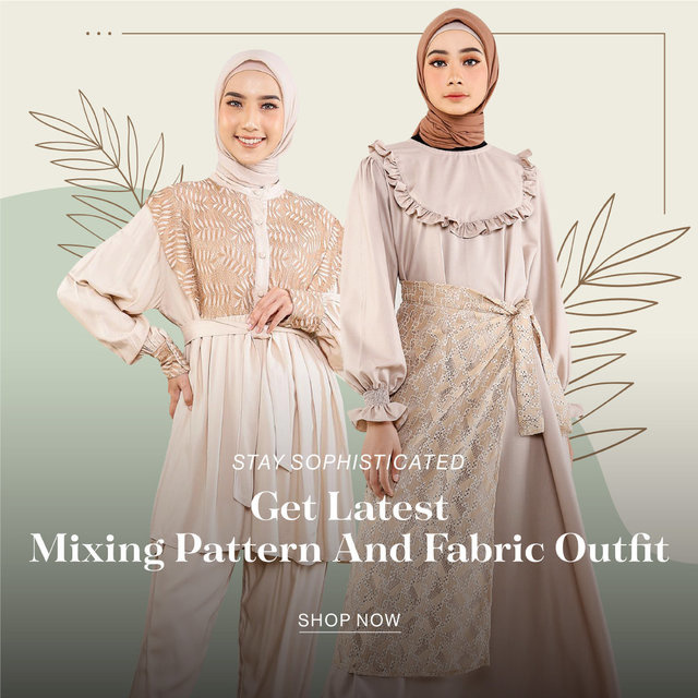 STAY SOPHISTICATED WITH THE LATEST PATTERNED AND UNIQUE OUTFIT