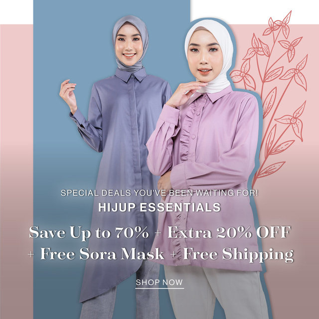 SPECIAL DEALS YOU'VE BEEN WAITING FOR! HIJUP ESSENTIALS