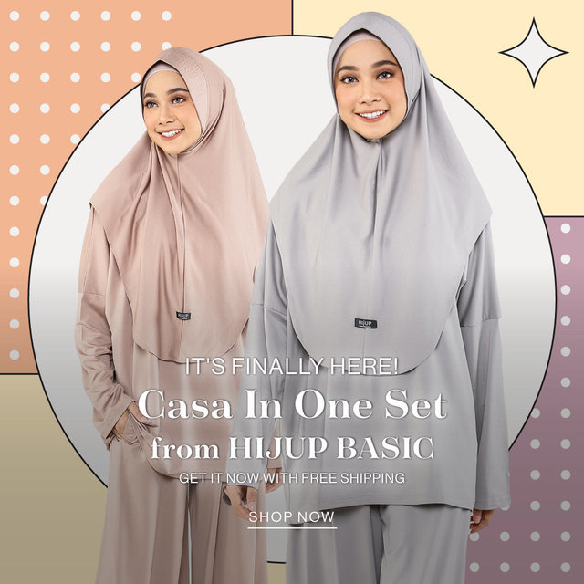 It's Finally Here! Casa In One Set from HIJUP BASIC