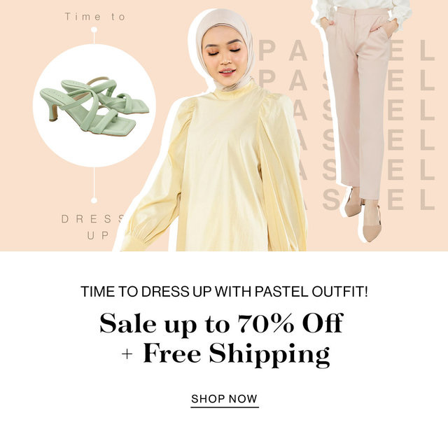 Time to Dress Up with Pastel Outfit!