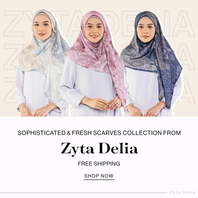 Sophisticated & Fresh Scarves Collection from Zyta Delia