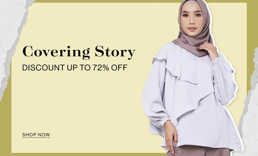 Covering Story Discount up to 72% OFF