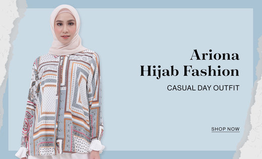 Casual Day Outfit Ariona Hijab Fashion