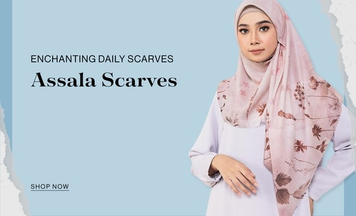 Enchanting Daily Scarves Assala Scarves