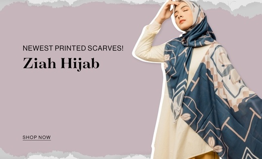 Ziah Hijab Newest printed scarves!