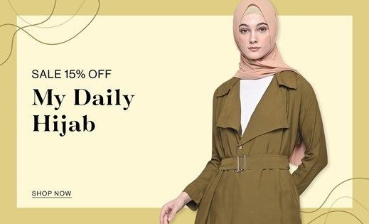 My Daily Hijab SALE 15% OFF