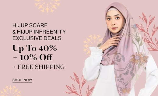 HIJUP Scarf & HIJUP Infreenity EXCLUSIVE DEALS