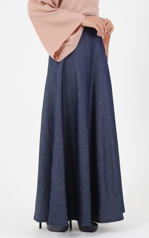 Long Skirt Denim Jane