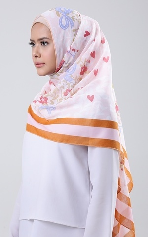 Shawl-Red Express Love 2