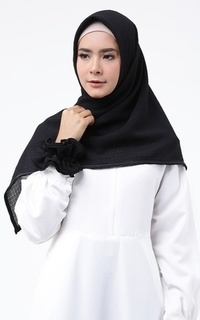Halimah Scarf with Rubber Hair
